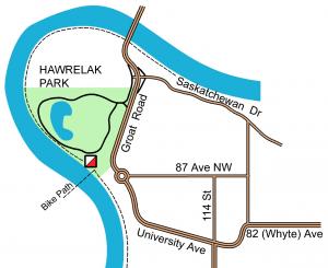 Hawrelak park shelter #2