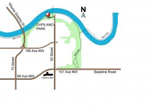 Capilano park registration map